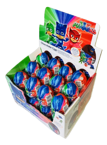 PJ01 PJMASKS CHOCOLATE EGG x24